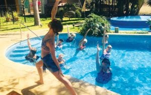 water workouts costa rica