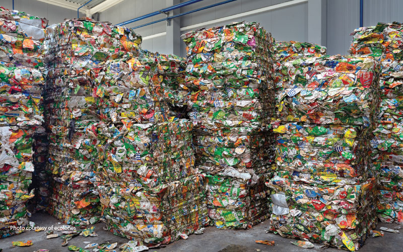 ecolones breaks recycling record